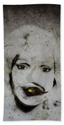 Spoiled Portrait In The Wall Beach Towel
