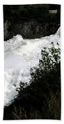 Spokane Falls In The Spring Beach Towel