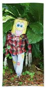 Sponge Bob Scarecrow Beach Sheet