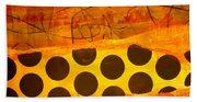 Spotted Sunset Beach Towel