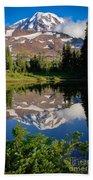 Spray Park Reflection Beach Towel