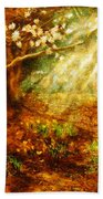 Spring - A Sign Of Spring Beach Towel
