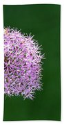 Spring Allium Beach Towel