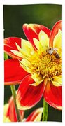 Spring Bee Beach Towel