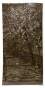 Spring Blossoms Beach Towel by Henry Muhrmann