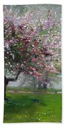 Spring By The River Beach Towel