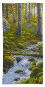 Spring Creek Beach Towel