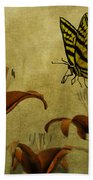 Spring Fever Beach Towel by Diane Schuster