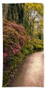 Spring Footpath Beach Towel