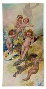 Spring From The Seasons Commissioned For The 1920 Pears Annual Beach Towel