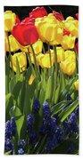 Spring Garden Sunshine Square Beach Towel