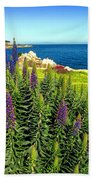 Spring In Pacific Grove Ca Two Beach Towel