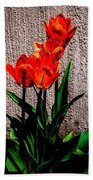 Spring In The City Beach Towel