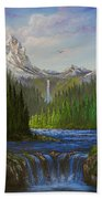 Spring In The Rockies Beach Towel by C Steele