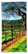 Spring In The Vineyard Beach Towel
