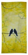 Spring Is A Time Of Love Beach Sheet