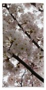 Spring Is Beautiful - A Cloud Of Pastel Pink Blossoms Beach Towel