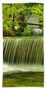 Spring Mill Spillway Beach Towel