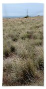 Spring On The Shrub-steppe In Washington Beach Towel