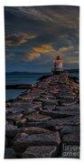 Spring Point Ledge Lighthouse Beach Towel
