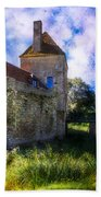 Spring Romance In The French Countryside Beach Towel by Debra and Dave Vanderlaan