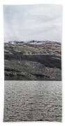 Spring Snow In The Highlands Beach Towel
