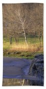 Spring Sunrise At Ring Bolt Rock Beach Towel