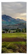 Spring Time In The Valley Beach Towel by Robert Bales
