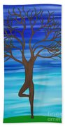 Spring Tree Beach Towel