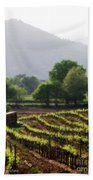 Spring Vines In Provence Beach Towel
