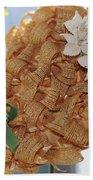 Spring Vintage Hat Beach Towel