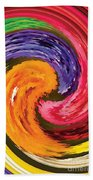 Spring Waves Beach Towel