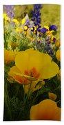 Spring Wildflowers Beach Towel