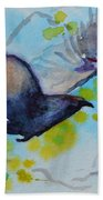 Spring Wings Beach Towel