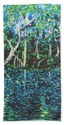 Springtime In Wekiva Beach Towel