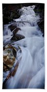 Springtime Waterfall Beach Towel