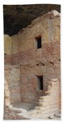 Spruce Tree House Structure Beach Towel