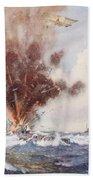 Squadron-commander A.w. Bigsworth Beach Towel