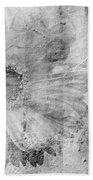 Square Series - Black White 5 Beach Towel