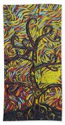 Squiggling In The Wind Beach Towel