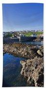 St Abbs Scotland Beach Towel