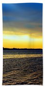 St Andrews Bay Sunset Beach Towel
