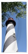 St. Augustine Light Beach Towel
