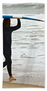 St Augustine Surfer Four Beach Towel
