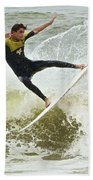 St Augustine Surfer Two Beach Towel