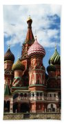 St. Basil's Cathedral Beach Towel