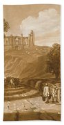 St Catherines Hill Near Guildford Beach Towel