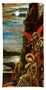 St Cecilia The Angels Announcing Her Coming Martyrdom Beach Towel