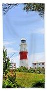 St. Davids Lighthouse Beach Towel