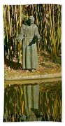 St. Francis In Nature Beach Towel
